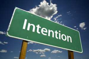 THE POWER OF INTENTION: MORE THAN MEETS THE EYE