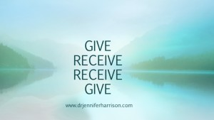 IS IT BETTER TO GIVE THAN TO RECEIVE?