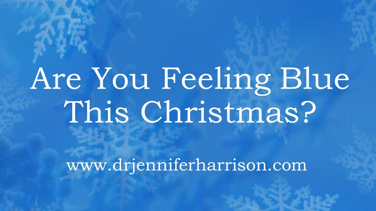 YOUR BEST SELF MINUTE: 3 WAYS TO WORK THROUGH THE CHRISTMAS BLUES
